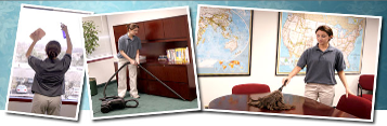 Cleaning Collage - Commercial Cleaning